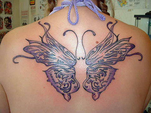 Popular Butterfly tattoos
